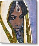 Ethiopian Woman Metal Print