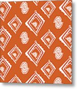 Ethnic Window Metal Print by Susan Claire