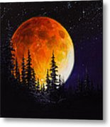 Ettenmoors Moon Metal Print by C Steele