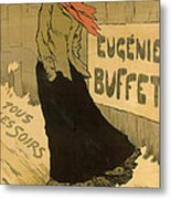 Eugenie Buffet Poster Metal Print
