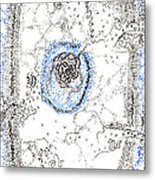 Eukaryotic Metal Print