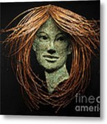 Euphrosyne Of The Three Graces Metal Print