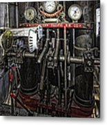 Eureka Ferry Steam Engine Controls - San Francisco Metal Print