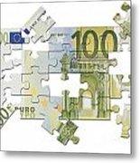 Euro Puzzle Metal Print
