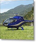 Eurocopter Ec130 Light Utility Metal Print