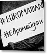Euromaidan Metal Print