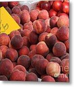 European Markets - Peaches And Nectarines Metal Print