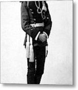 European Officer, 1890s Metal Print