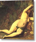 Eve After The Fall Metal Print