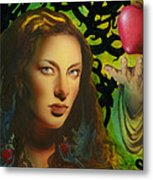 Eve And The Apple Metal Print