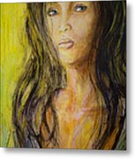 Eve Portrait  Metal Print
