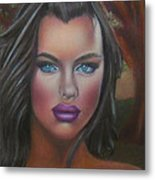 Eve Was Framed Feat Irina Shayk Metal Print by D Rogale