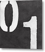 Even And Odd Numbers Metal Print
