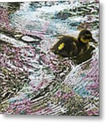 Even The Smallest Leave Ripples In Their Wake Metal Print