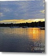 Evening Approaches Metal Print