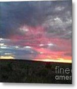 Evening Arizona Sky Metal Print