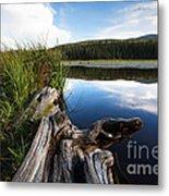 Evening At Red Rock Lake Metal Print