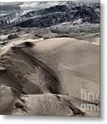 Evening At The Dunes Metal Print