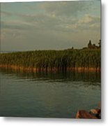 Evening At The Ferrie Metal Print