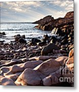Evening At The Sea Metal Print