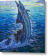 Evening Bite Metal Print