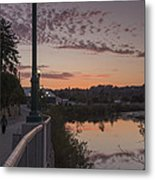 Evening By The River Metal Print