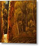 Evening Calm-original Sold-buy Giclee Print Nr 30 Of Limited Edition Of 40 Prints  Metal Print