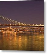 Evening II New York City Usa Metal Print