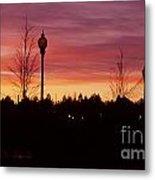 Evening In Riverfront Park Metal Print