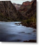 Evening In The Canyon Metal Print