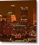 Evening In The City Of Champions Metal Print
