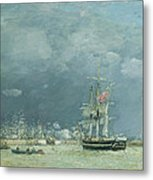 Evening Le Havre Metal Print