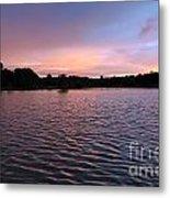 Evening Light Amazon River Metal Print