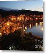 Evening Light In Collioure Metal Print