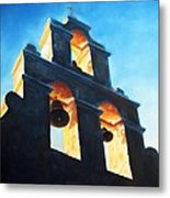 Evening Mission Metal Print