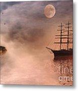 Evening Mists Metal Print by John Edwards