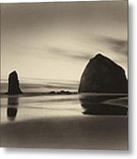 Evening On The Beach Metal Print
