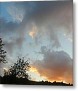 Evening On The Hill Metal Print