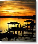 Evening On The May Metal Print