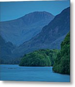 Evening Over Derwentwater Metal Print