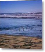 Evening Peace On Coronado Beach Metal Print