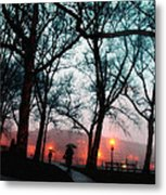 Evening Rain Photofresco Metal Print