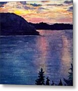 Evening Song Metal Print
