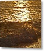 Evening Sun Hive Beach Four Metal Print