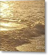 Evening Sun Hive Beach Three Metal Print