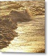 Evening Sun Hive Beach Two Metal Print