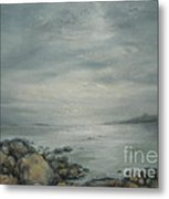 Evening Sunlight On The Bay Metal Print
