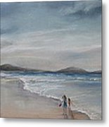 Evening Tide Metal Print by Rachael Curry