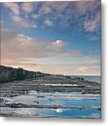 Evening View Down The South Jetty Metal Print