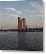 Eveninglight Baltimore Inner Harbor Metal Print
